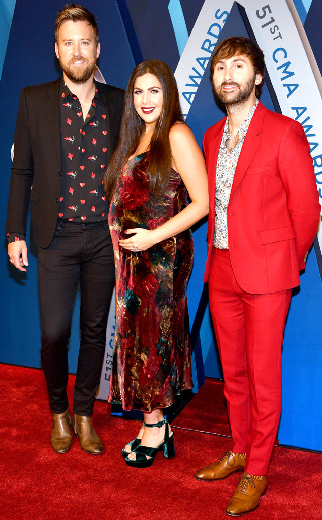 Charles Kelley, Hillary Scott, Dave Haywood, 2017 CMA Awards
